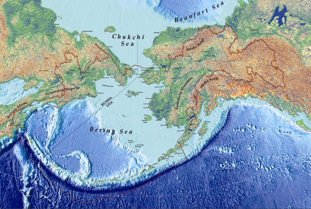 Maps of Arctic Region Collection of detailed