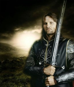 Picture of Aragorn, from Lord of the Rings