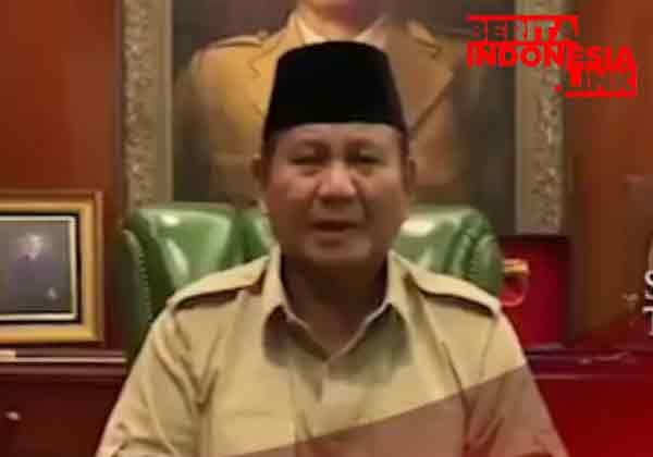 Prabowo Subianto Minta Massa Aksi Damai Percaya Perjuangan Konstitusional