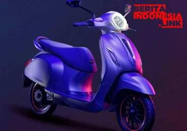 BAJAJ Perkenalkan Motor Listrik bergaya Vespa,