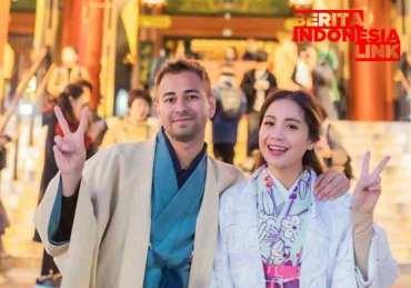 Raffi Ahmad dan Nagita Slavina Liburan Bareng ke Jepang