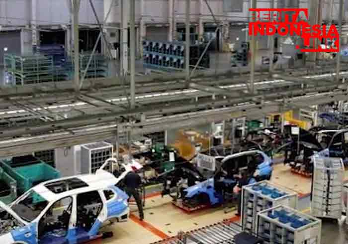 Produsen otomotif Tiongkok naik 60%