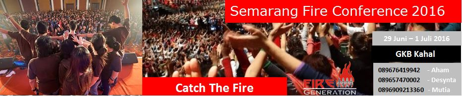 Semarang Fire Conference Header