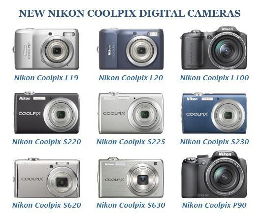Kamera Digital Nikon baru