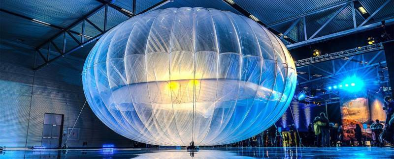 Project Loon (Kredit: Sciencealert)