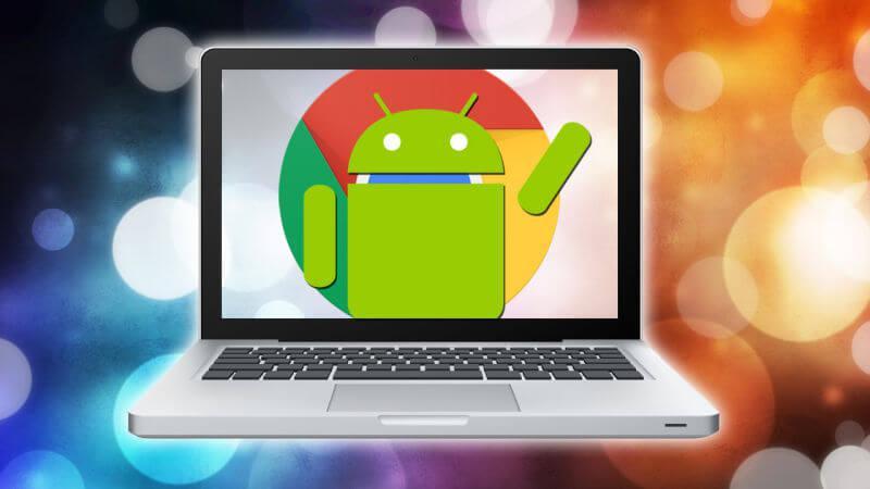 menjalankan aplikasi android di google chrome