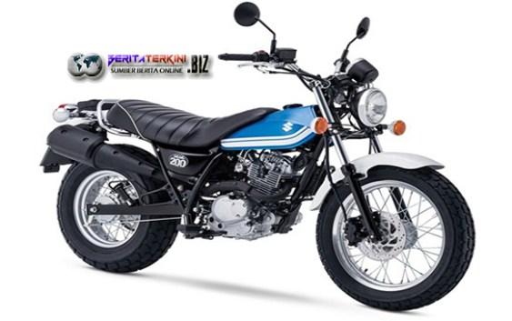 Suzuki Kembali Meluncurkan Sepeda Motor Baru Bergaya Retro