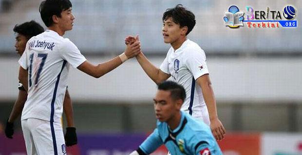 Babak Laga Pertama Usai, Perolehan Sementara Indonesia Tertinggal 0-1 Dari Korsel