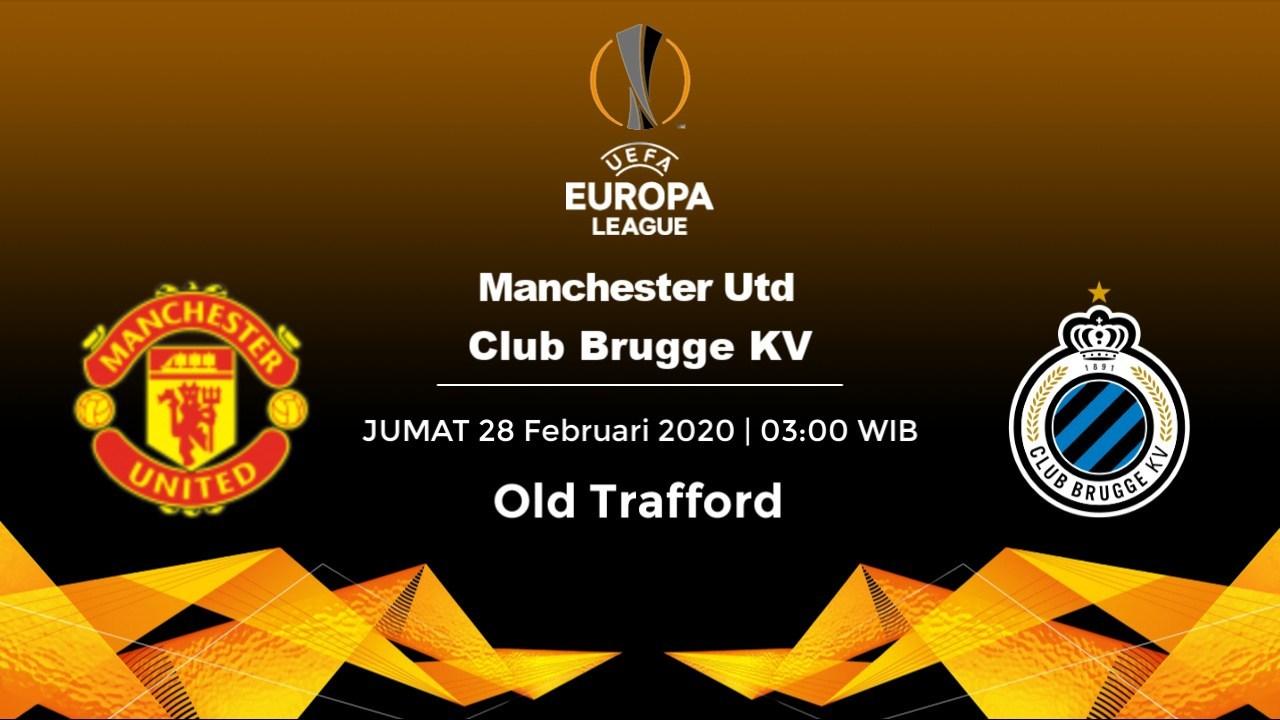 Prediksi Skor Manchester Utd Vs Club Brugge KV 28 Februari