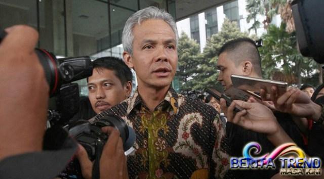 Ganjar Pranowo Mengatakan Akan Tetap Kooperatif Mengenai Kasus e-KTP