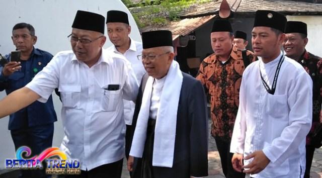 Ma'ruf Amin akan Menemui Sultan HB X di Keraton Yogya, Ini yang Dibicarakan
