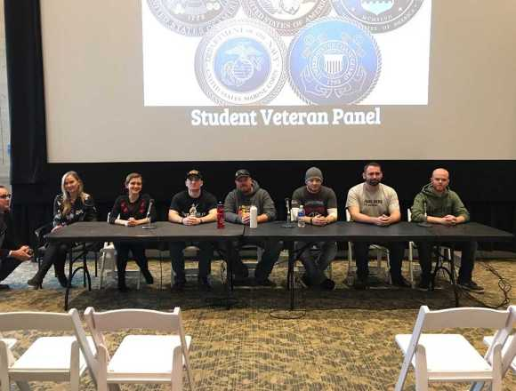 Student veterans talk inclusion at panel event