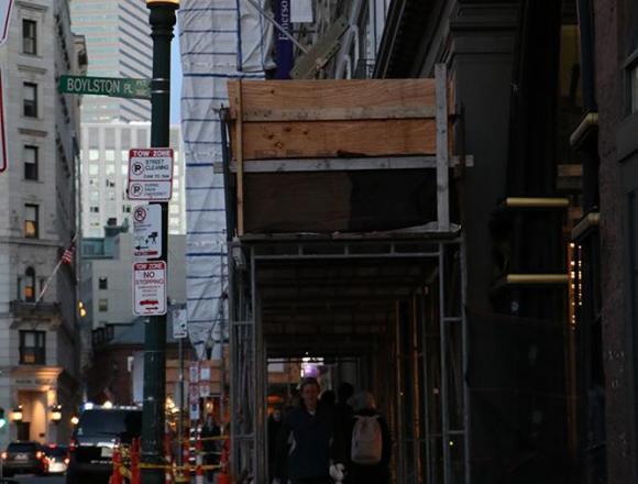 Walker maintenance prompts scaffolding installation
