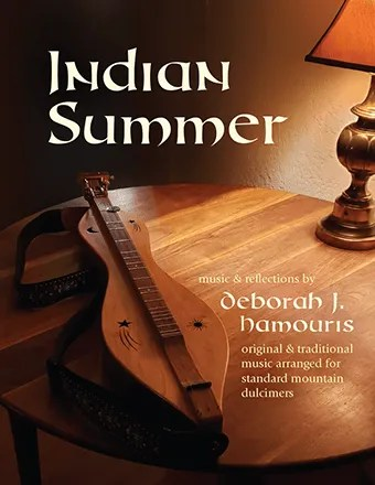 Cover of Indian Summer - photo of dulcimer on a wooden table