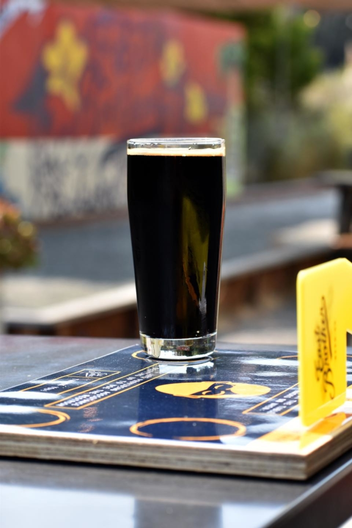 One hundred percent of proceeds from sales of East Brother Beer Co's Black is Beautiful imperial stout go to Safe Return Project in Richmond. Photo: East Brother Beer Co.