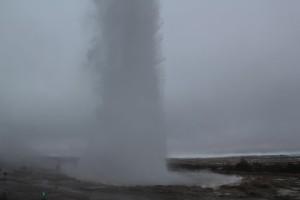 Iceland Geysi geysers
