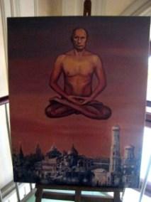 Petersburg - Putin Naked - Painting