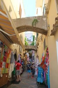 Amalfi - Positano Side Street