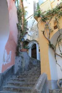 Amalfi - Positano Side Street 4