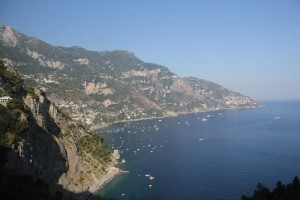 Amalfi - View South from close to Nocelle