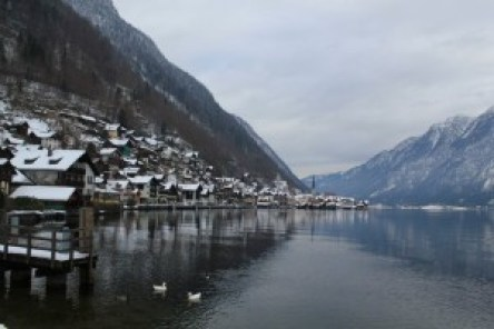 view of hallstatt from other side