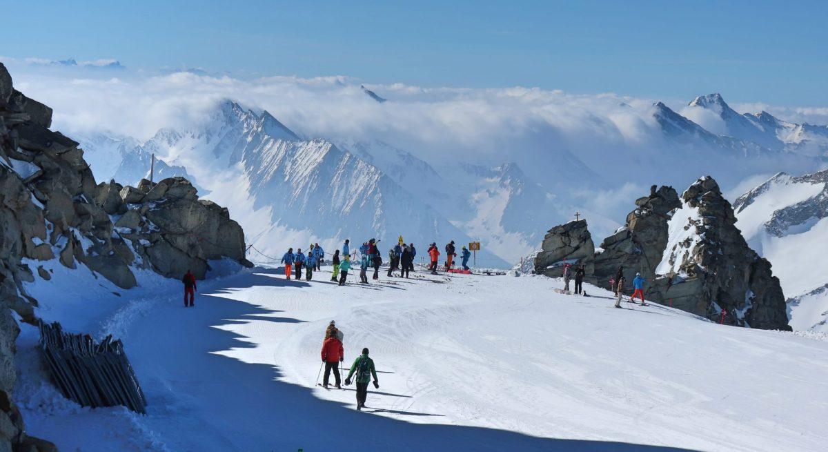 Mayrhofen Spring Skiing in Tirol