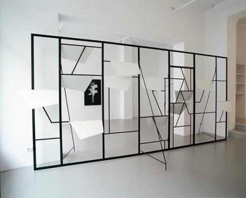Work by Martin Boyce.