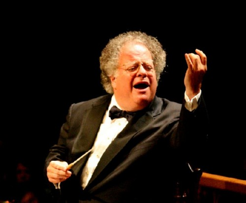 James Levine the artistic director of the Boston Symphony Orchestra. Photo courtesy of the BSO.