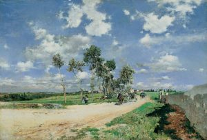 Highway of Combes-la-Ville - Giovanni Boldini