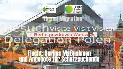 Besuch einer Delegation im Rahmen der Städtepartnerschaft Warschau – Berlin