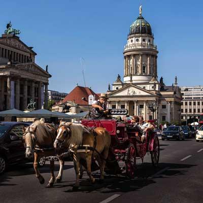 Preussische Mitte: Gendarmenmarkt, Französischer Dom, Konzerthaus