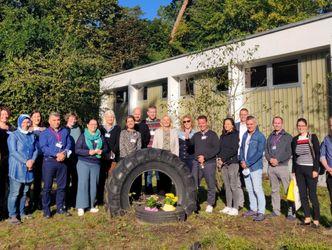 Erweiterung: Europäische Lehrkräfte zu Besuch an der Albrecht-Haushofer-Schule