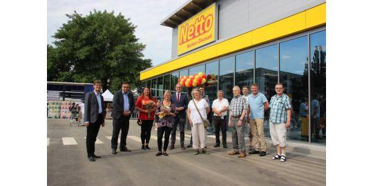 Eröffnung des Netto-Marktes in der Wartenberger Straße 51