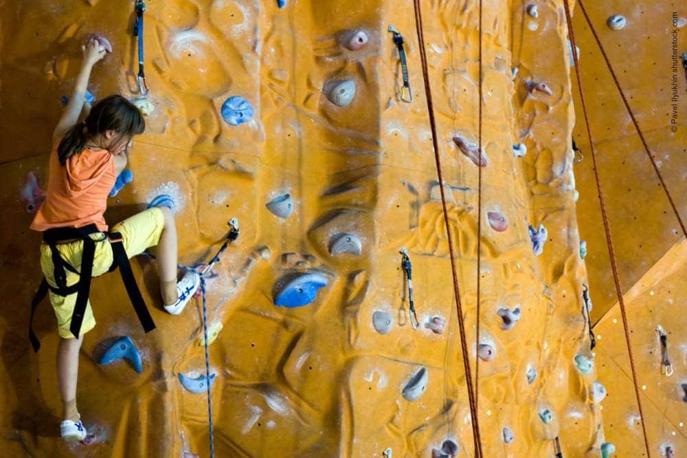 Kletteranlage im Turm Oranienburg