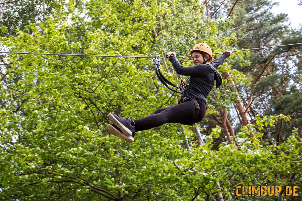 Bild Kletterwald CLIMB UP in Hennigsdorf bei Berlin