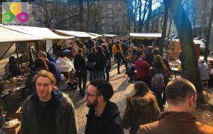Floh und Kunstmarkt am Boxhagener Platz