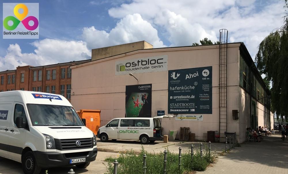 Boulderhalle Ostbloc in Berlin Lichtenberg