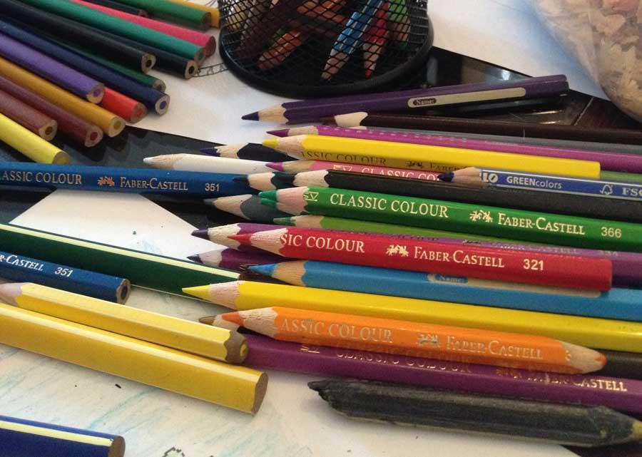 Zeichenkurse im Kinderkunstatelier Friedenau