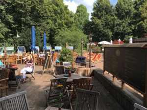 Bild Cafe Rosenstein Buergerpark Pankow