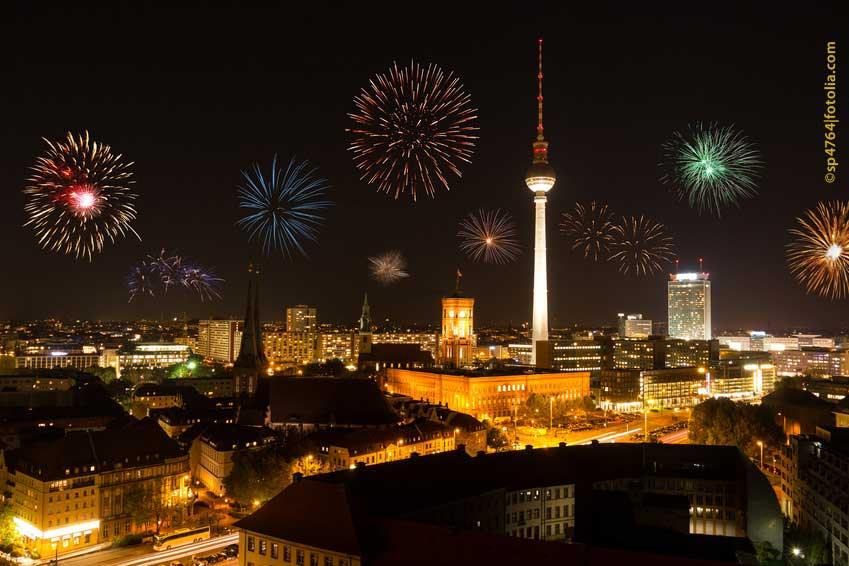 Bild Feuerwerk Berlin