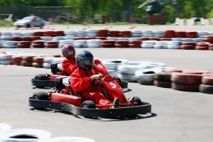 Bild Gokart Bahn Berlin Kart Center