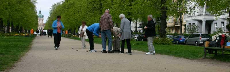 Bild Boule Boccia Berlin