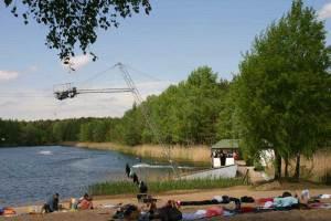 Wakeboard- und Wasserskianlage in Ruhlsdorf bei Berlin