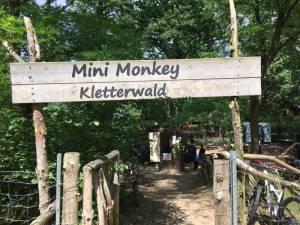 Kinderkletterwald Mini Monkey in Birkenwerder