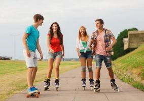 Skate and Glide Inline Skate / Eislauf Kurse Verkauf und Verleih
