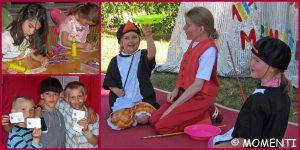 Kindergeburtstag zu Hause feiern mit Kinderparty Momenti