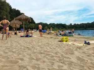 Bild Sandstrand am Nyphensee
