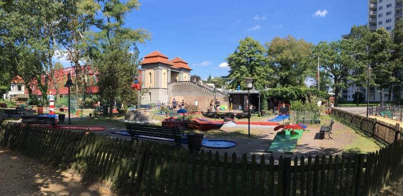 Minigolfanlage am Tegler See in Reinickendorf