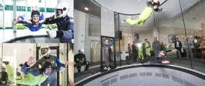 Windobona Indoor Skydiving Windkanal Berlin