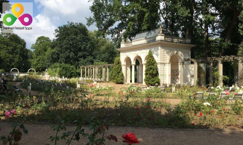 Parkanlagen und botanische Gärten in Berlin